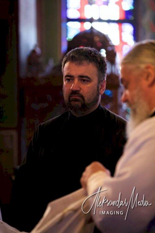 Литургијска радост поводом доласка Владике Митрофана и Владике Кирила у Виндзору