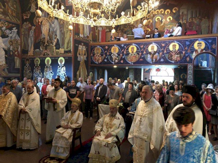 Прослављена слава Преображења у манастиру Милтон