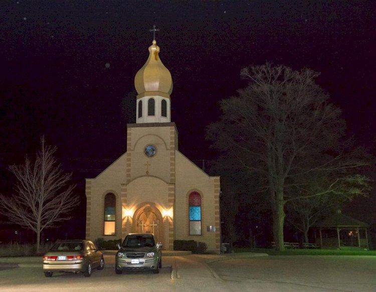 Црква светог великомученика Георгија у Ватерлоу