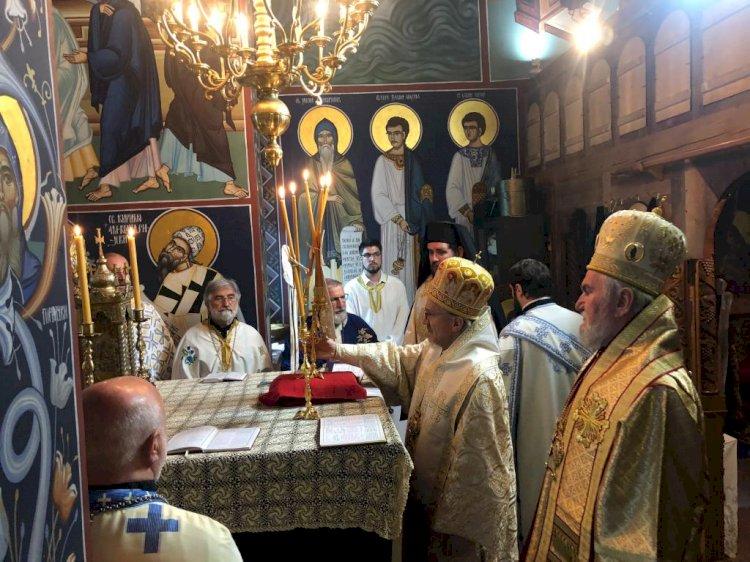 Слава манастира Преображења Господњег у Милтону