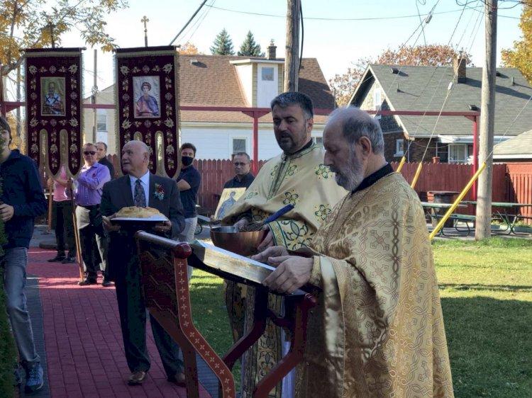Прослављена слава цркве св. Димитрија у Виндзору